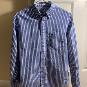 American Eagle striped long sleeve button up.